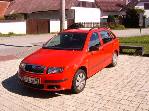Škoda Fabia Combi 3 válec 1,2 HTP- STAG 4