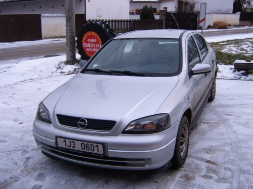 Opel Astra G 1,6 - STAG 4