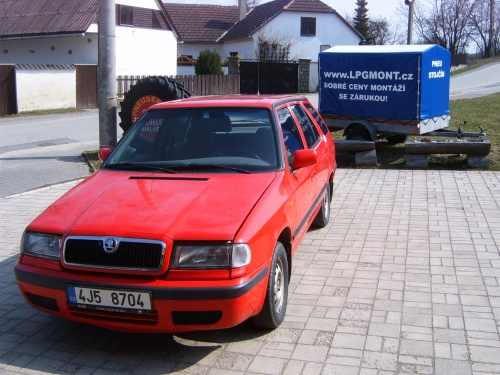 Škoda Felicia 1,3 MPi kombi - ESGI 2 BLACK
