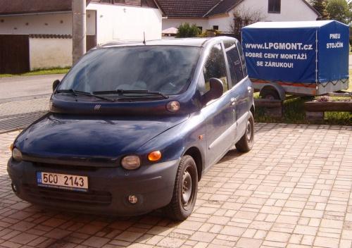 Fiat Multipla 1,6 - 76kW - STAG 4