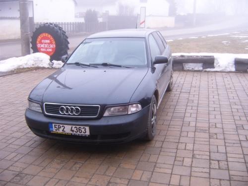 Audi A4 1,8 turbo 110 kW - ESGI 2 BLACK