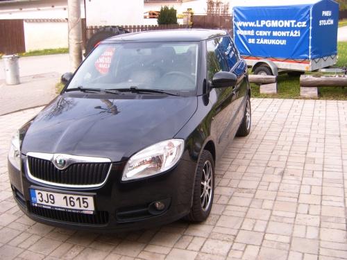 Škoda Fabia II - 3 válec 1,2 HTP 51kW- STAG 4