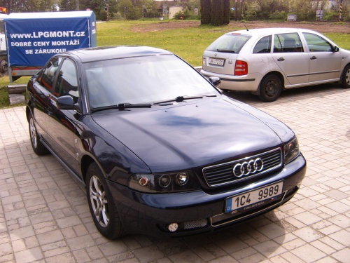 Audi A4 1,8 - 92kW - STAG 4